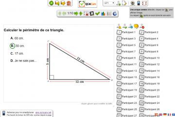 Visualiser les réponses des élèves et interroger un élève ayant répondu correctement ou pas.